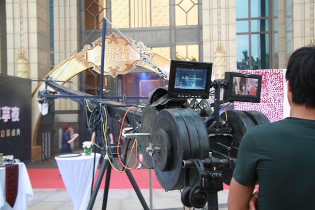 12米摇臂拍摄 摄影摄像