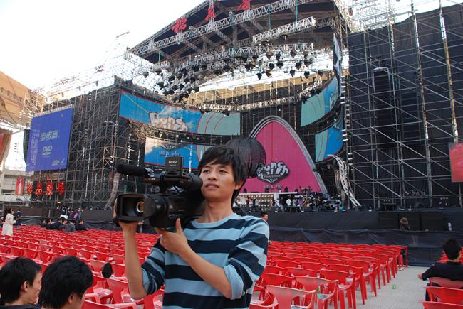 周杰伦演唱会拍摄 影视后期制作